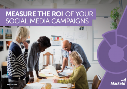 Measure the ROI of Your Social Media Campaigns Marketo