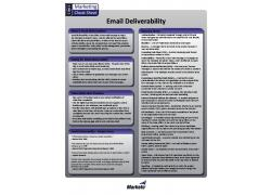 Email Deliverability cheatsheet