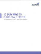 10 Easy Ways Close Deals Faster