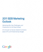 googles 2011 B2B marketing outlook for DG and MM