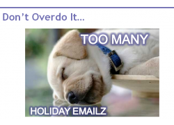 Holiday Email Snip